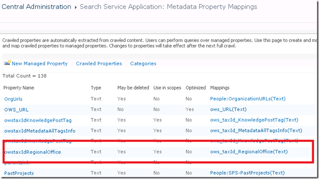 Manage the search schema in SharePoint Online | Microsoft Docs