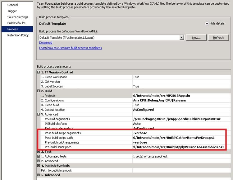 Building SharePoint 2013 Apps with TFS 2013 at SharePoint Config