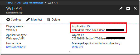 Configure Swagger to authenticate against Azure AD at